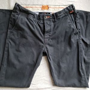 Superdry Slim Chino Pants -Dark Navy